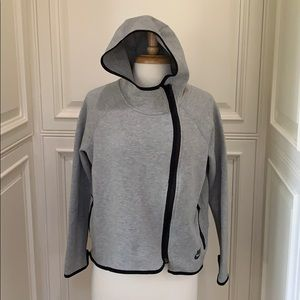 Nike gray hoodie with flare and style size M